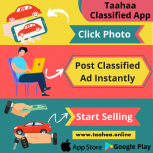 Taahaa App-Post Classified Ads Instantly