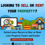 Sell/Rent Property Online with Homeland
