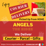 Enjoy Courier Delivery Services - Angels App