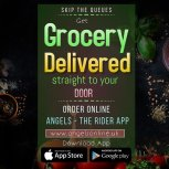 Get Grocery Delivered to your Door