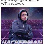 Cool hacker kid