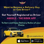 Start Provide Riding and Delivering Services
