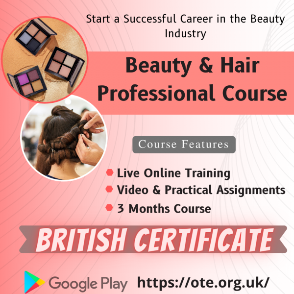 Start Your Career as Expert Beautician